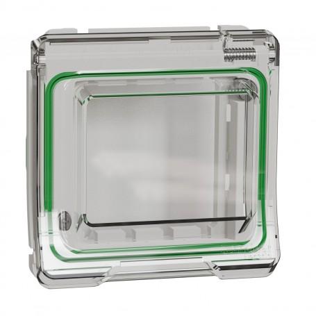 SCHNEIDER MUR39110 - Adaptateur, 45x45, Mureva, composable, Blanc