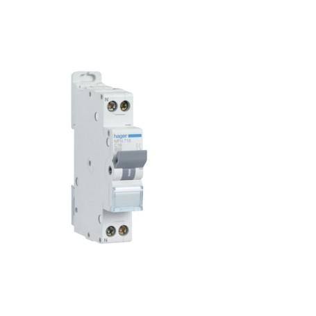 HAGER MFN732 - Disjoncteur, P+N, 32A