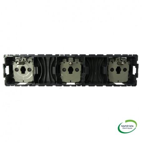 LEGRAND 067126 - Prise de courant 3X2P+T précâblée Céliane
