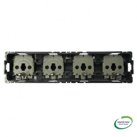 LEGRAND 067128 - Prise de courant 4X2P+T précâblée Céliane