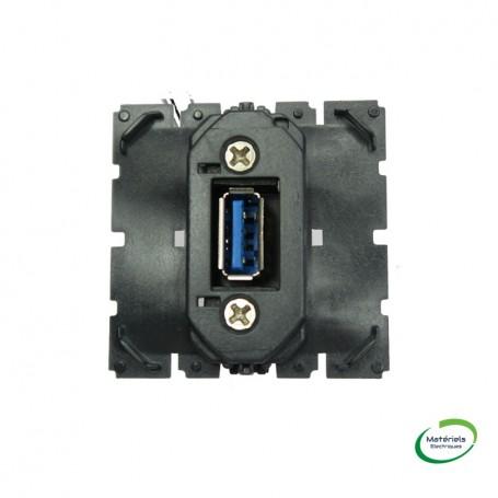 LEGRAND 067372 - Prise USB, Type A, pré-connectorisée, Céliane