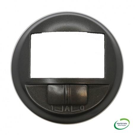 LEGRAND 067926 - Enjoliveur, Graphite, Céliane, écodétecteur avec dérogation