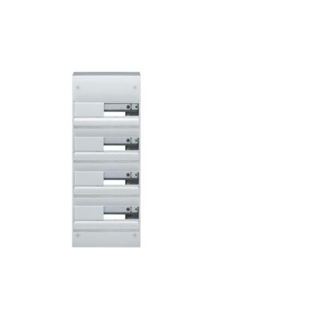 HAGER GD413A - Coffret 4 Rangées de 13 Modules