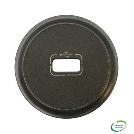LEGRAND 067950 - Enjoliveur, prise USB, Graphite, Céliane, Legrand