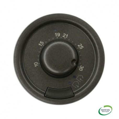 LEGRAND 067980 - Enjoliveur, Graphite, Céliane, thermostat d'ambiance