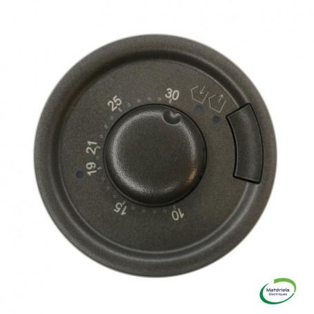 LEGRAND 067993 - Enjoliveur, Graphite, Céliane Thermostat fil pilote/Cpl