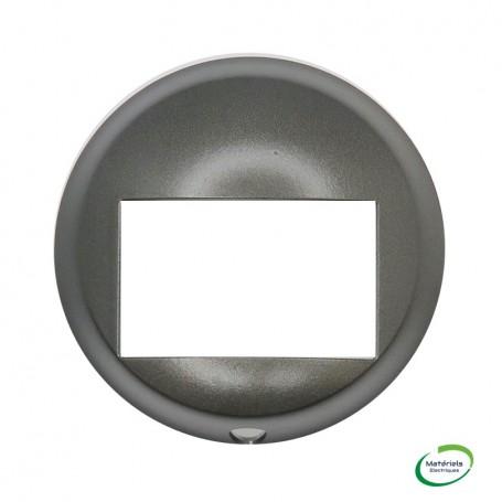 LEGRAND 067999 -  Enjoliveur, Graphite, écodétecteur sans dérogation, Céliane