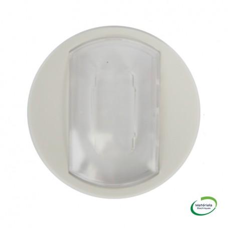 LEGRAND 068014 - Enjoliveur, Blanc, Céliane, V&V/Poussoir, avec étiquette