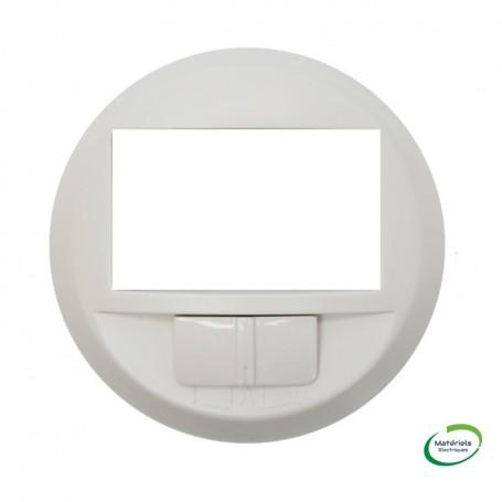 LEGRAND 068026 - Enjoliveur, Blanc, Céliane, détecteur de mouvements