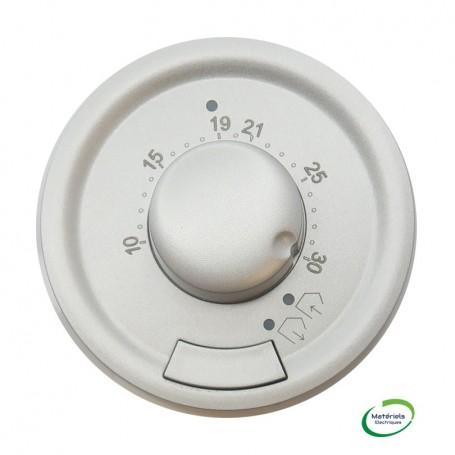 LEGRAND 068540 - Enjoliveur, Titane, Céliane, Thermostat d'ambiance