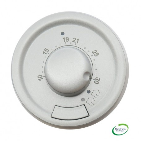 LEGRAND 068545 - Enjoliveur, Titane, Céliane, Thermostat fil pilote/Cpl