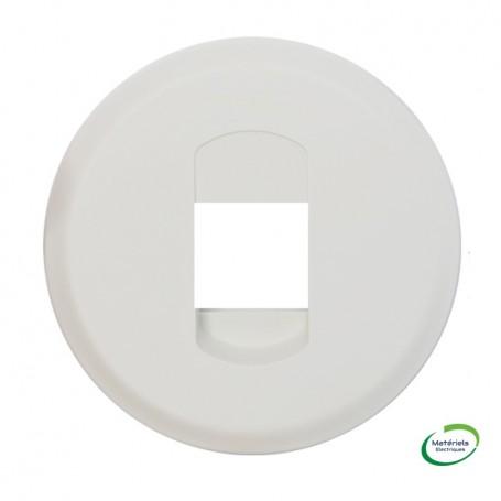 LEGRAND 068211 - Enjoliveur, Blanc, Céliane, Prise HP simple
