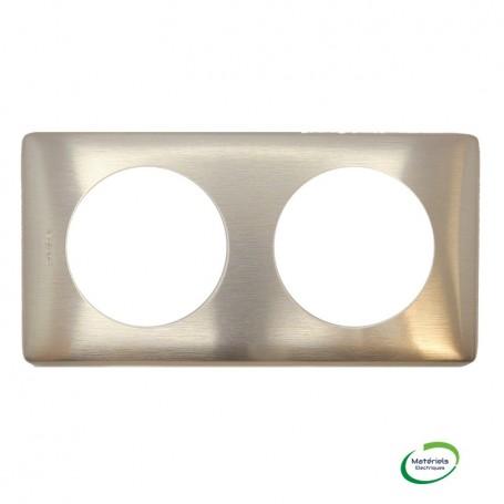LEGRAND 068992 - Plaque, 2 postes, Métal, Copper, Céliane, Legrand