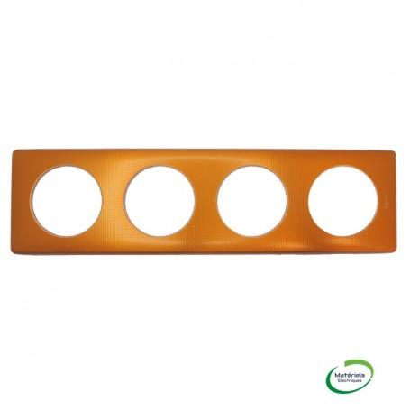 LEGRAND 068764 - Plaque, 4 poste, Orange, Snake, Céliane, Legrand