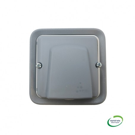 LEGRAND 069848 - Sortie de câbles, Plexo, Complet, Encastré, Gris