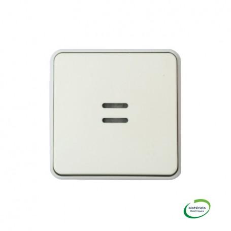 LEGRAND 069632 - Poussoir NO lumineux, Plexo, composable, Blanc