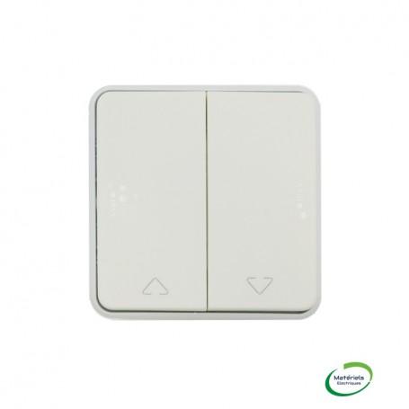 LEGRAND 069629 - Double va-et-vient, pour volets roulants, Plexo, Composable, Blanc