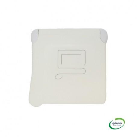 LEGRAND 069623 - Prise 2P+T à detrompage, Plexo, Composable, Blanc