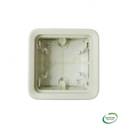 LEGRAND 069689 - Boitier à embouts, compo. 1 poste, Plexo, Composable, Blanc