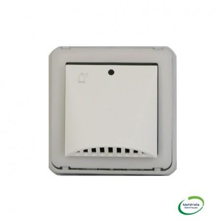 LEGRAND 069592 - Détecteur de gaz, Plexo, Composable, gris et blanc