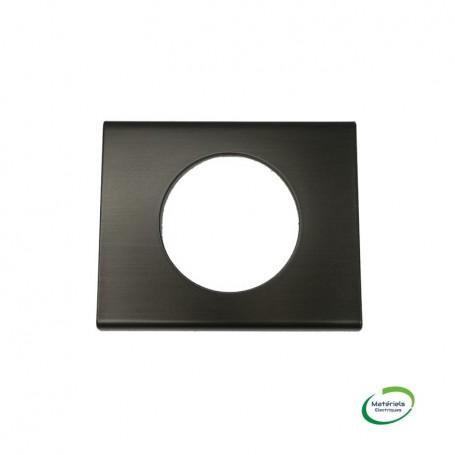 LEGRAND 069031 - Plaque, 1 poste, Black Nickel, Céliane, Legrand
