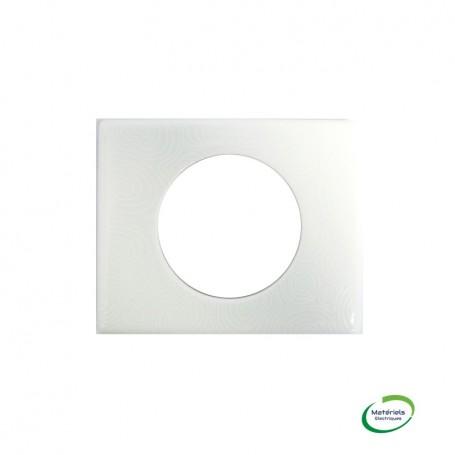 LEGRAND 069351 - Plaque, Songe Porcelaine, 1 poste, Céliane