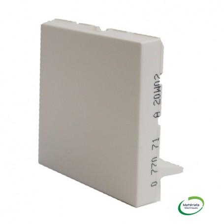 LEGRAND 077071 - Oburateur, Blanc, 2 modules, Mosaic, Legrand