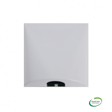LEGRAND 077550 - Sortie de câbles, 2 Modules, Blanc, Mosaic
