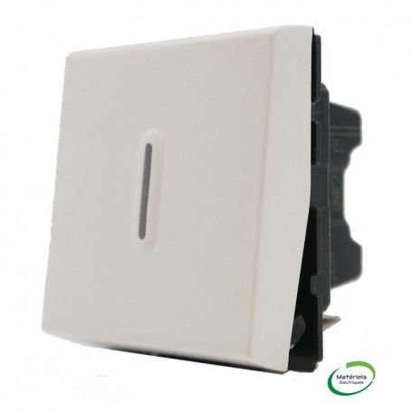 LEGRAND 078420 - Interrupteur temporisé, 2 Modules, Blanc, Mosaic