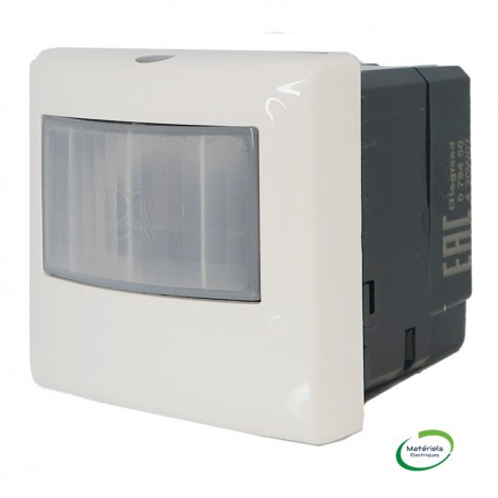 LEGRAND 078458 - Ecodetecteur 2 fils-SN, sans dérogation, Blanc, Mosaic