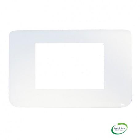 LEGRAND 078803 - Plaque, 3 Module, Blanc, Mosaic, Legrand