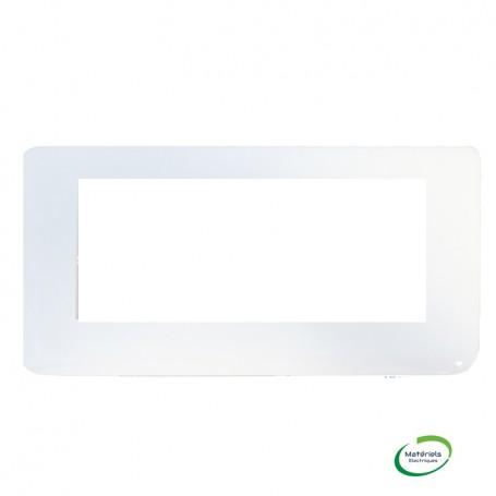 LEGRAND 078815 - Plaque, 5 Module, Horizontal, Blanc, Mosaic