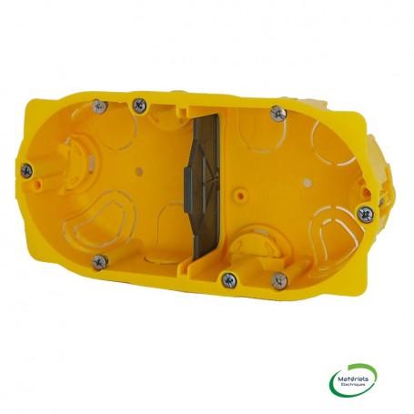 LEGRAND 080042 - Boîte placo, 2 postes, prof. 40mm