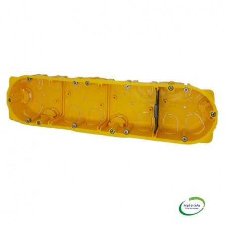 LEGRAND 080044 - Boîte placo, 4 postes, prof. 40mm