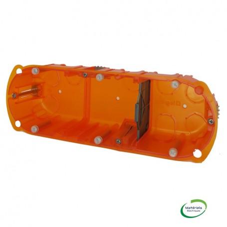 LEGRAND 080103 - Boîte multimatériaux, 3 postes, prof. 40mm