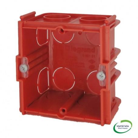 LEGRAND 080151 - Boîte monoposte, carrée, prof. 50mm