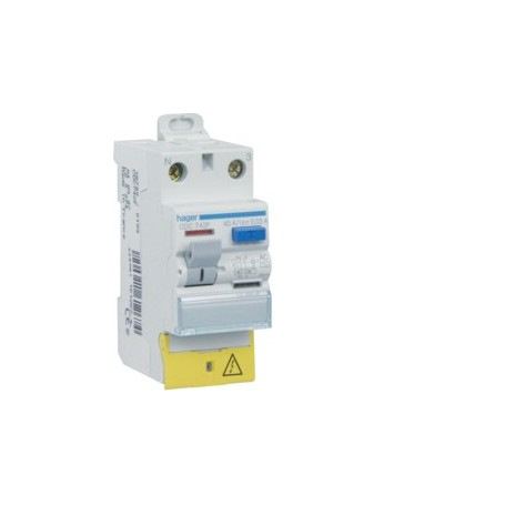 HAGER CDC722F - Inter. diff. 2x25A 30mA type AC