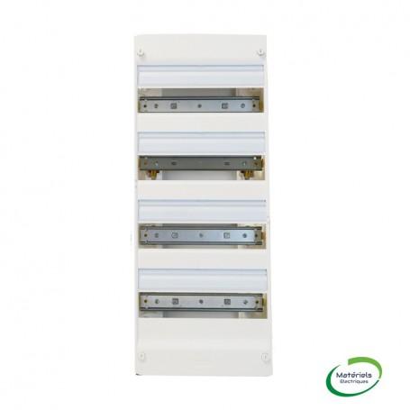 LEGRAND 401214 - Coffret 4 rangée de 13 modules