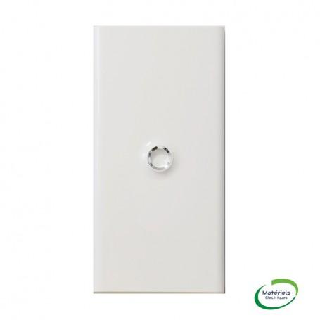 LEGRAND 401333 - Porte Blanc, 3 Rangées, 13 modules