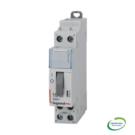 LEGRAND 412412 - Télérupteur standard à vis, 2P, 16A