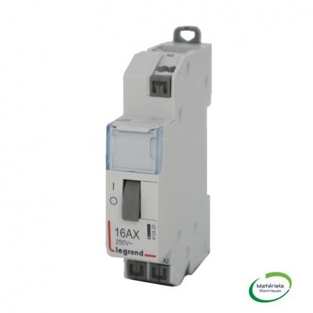 LEGRAND 412420 -Télérupteur standard à bornes auto 1P