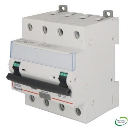 LEGRAND 411185 - Disjoncteur différentiel, 400V, 10A, 30mA, type AC