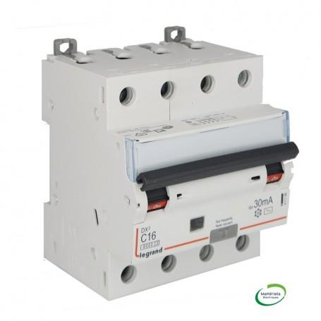 LEGRAND 411186 - Disjoncteur différentiel, 400V, 16A, 30mA type AC