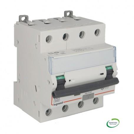 LEGRAND 411187 - Disjoncteur différentiel, 4P 20A, 30mA, Type AC