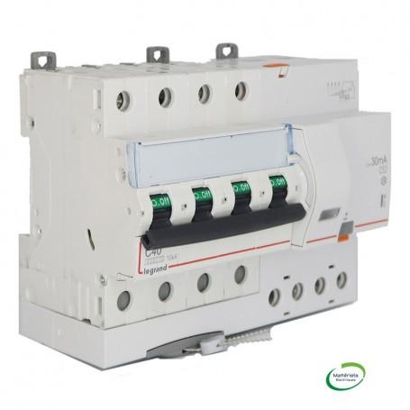 LEGRAND 411190 - Disjoncteur différentiel, 400V, 40A, 30mA, type AC