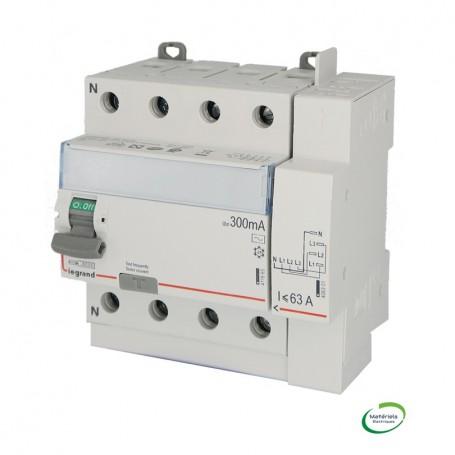 LEGRAND 411654 - Interrupteur différentiel, 4x40A, 300mA, type AC