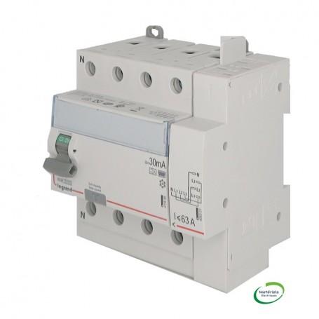 LEGRAND 411658 - Interrupteur différentiel, 4P 40A, 30mA, type HPI