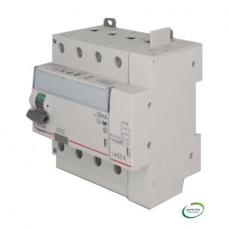 LEGRAND 411659 - Interrupteur différentiel, 4x63A, 30mA, type HPI