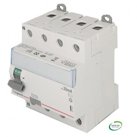 LEGRAND 411663 - Interrupteur différentiel, 4x80A, 30mA, type AC