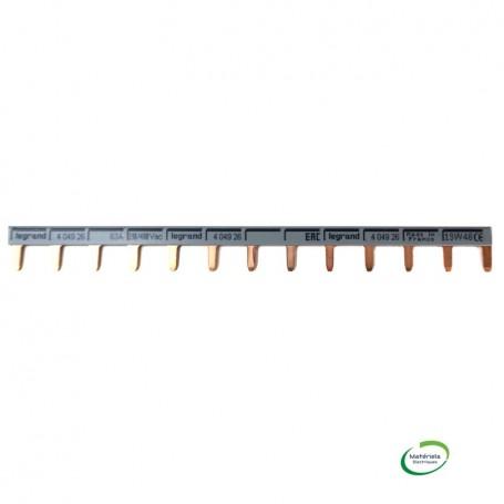 LEGRAND 404926 - Peigne Unipolaire, 13 Modules